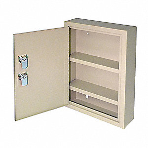 Medical Security Cabinet,Sand,Steel