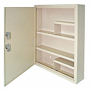 Medical Security Cabinet,Steel,Sand