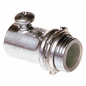 Connector,Setscrew,Insulated,1/2 In