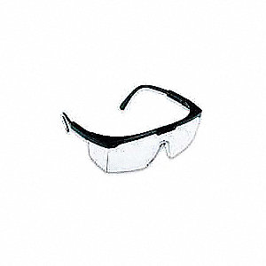 SQUIRE  T1605 Anti-Static, Scratch-Resistant Safety Glasses, Clear Lens Color