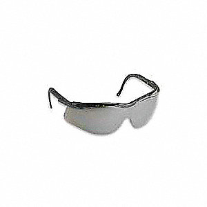 N-Vision Anti-Fog, Anti-Static, Scratch-Resistant Safety Glasses, Smoke Lens Color