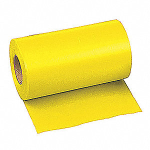 "Taffeta Flagging Tape, Yellow, 6"" x 300 ft."