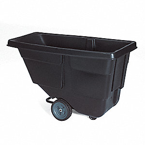 Tilt Truck, 1/2 cu. yd. Volume Capacity, 300 lb. Load Capacity, Light-Duty Hopper Type