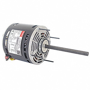 1/2 HP Direct Drive Blower Motor, Permanent Split Capacitor, 1625 Nameplate RPM, 208-230 Voltage