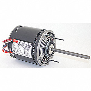 1 HP Direct Drive Blower Motor, Permanent Split Capacitor, 1625 Nameplate RPM, 115 Voltage