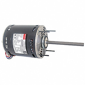 1 HP Direct Drive Blower Motor, Permanent Split Capacitor, 1075 Nameplate RPM, 208-230 Voltage
