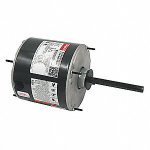 Condenser Fan Motor,1/3 HP,1075 rpm,60Hz