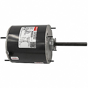 Condenser Fan Motor,3/4 HP,1075 rpm,60Hz