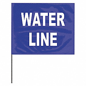 Marking Flag, Legend: Water Line