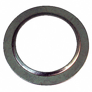 Zinc Plated Steel Reducing Washer,  For Use With Fittings and Enclosures ,  Conduit: 1-1/2 x 1