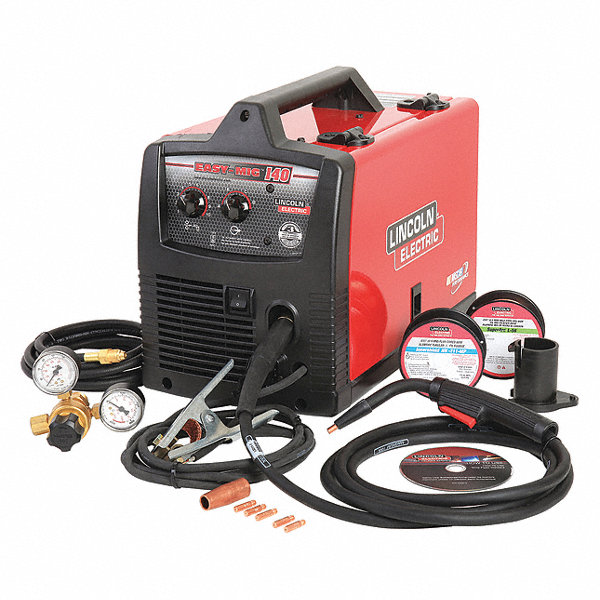 Lincoln electric mig welder easy mig 140 series input for Lincoln electric motors catalog