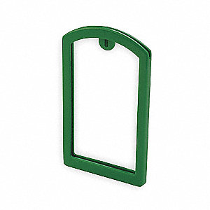 Label Pocket Frame,Pocket Recess,Green