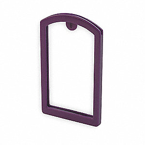Label Pocket Frame,Pocket Recess,Purple