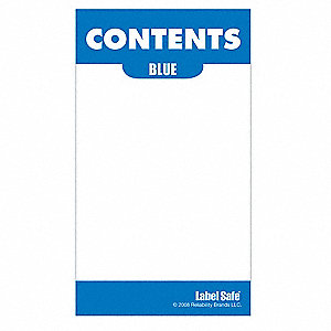 Content Label,2 In. W,3-1/2 In. H