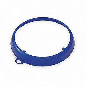 Color Coded Drum Ring,Gloss Finish,Blue