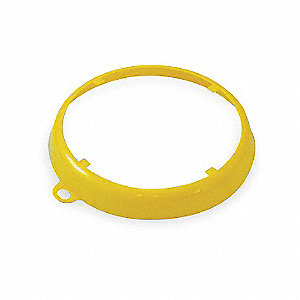 Color Code Drum Ring,Gloss Finish,Yellow