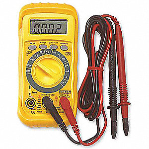 EXTECH (R) MN26T Compact - Basic Features Digital Multimeter, 0° to 1400°F Temp. Range
