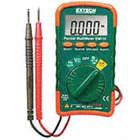 Multímetro Digital, 4000 Conteos, Precisión ±1.00% de Lectura + 3 Dígitos, Promedio, Amperes Máx. CA 400mA, Voltios Máx. CA 500