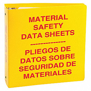 "Red/Yellow Binder, Bilingual, 2-1/2"" Ring Size"