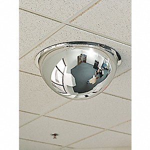 FULL DOME MIRROR,36IN.,POLYCARBONAT