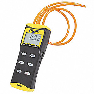 High Resolution Digital Manometer