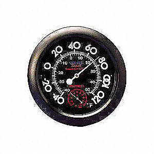 Indoor Analog Hygrometer,-40 to 120 F