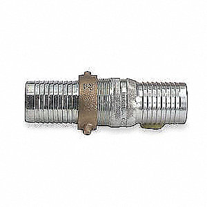 1-1/2 In. Steel Short Shank Coupling