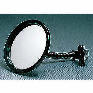 "7""-dia. Circular Convex Mirror, Viewing Distance: 10 ft."