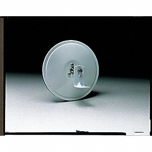 Vehicle Mirror,Round,5 In,Glass