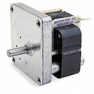 AC Gearmotor 230 Nameplate RPM 5.8 Max. Torque 35.0 in.-lb. Enclosure Open