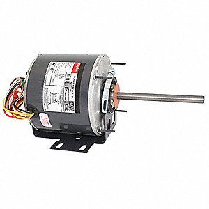 dayton 1/3 hp condenser fan motor,permanent split capacitor,1075 nameplate  rpm,208-230 voltage,frame 48yz - 3m217|3m217bg - grainger