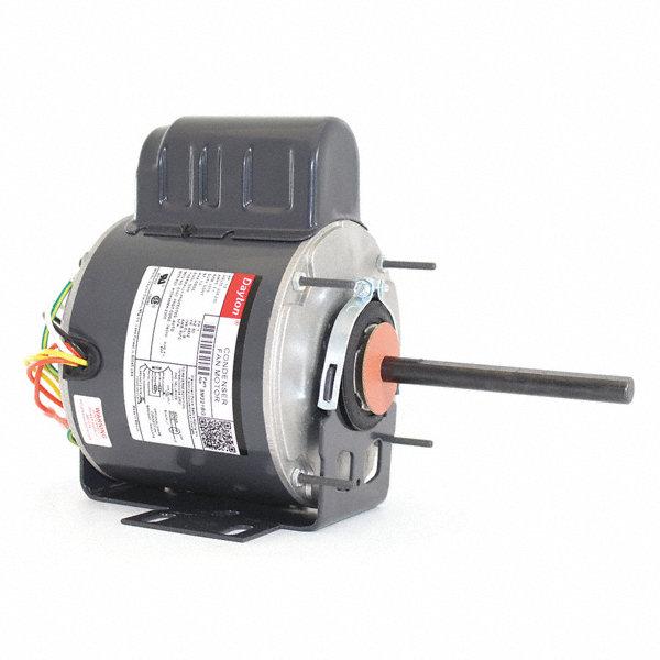 Dayton 1 2 hp condenser fan motor permanent split for 1 3 hp psc motor