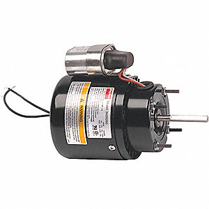 1/8 HP, HVAC Motor, Permanent Split Capacitor, 3000 Nameplate RPM, 115 Voltage, Frame 3.3
