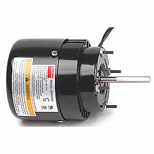 1/15 HP, HVAC Motor, Shaded Pole, 1550 Nameplate RPM, 115 Voltage, Frame 3.3