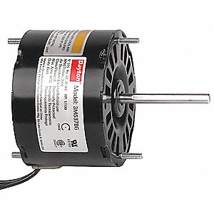 1/100 HP, HVAC Motor, Shaded Pole, 3000 Nameplate RPM, 115 Voltage, Frame 3.3