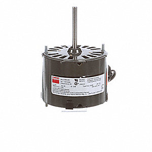 1/50 HP, HVAC Motor, Shaded Pole, 1550 Nameplate RPM, 115 Voltage, Frame 3.3