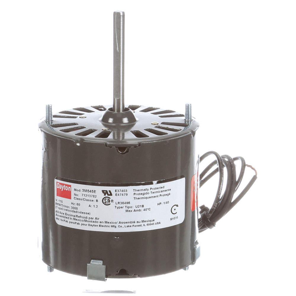 HVAC Motor,1//40 HP,3000 rpm,115V,3.3 71216242M
