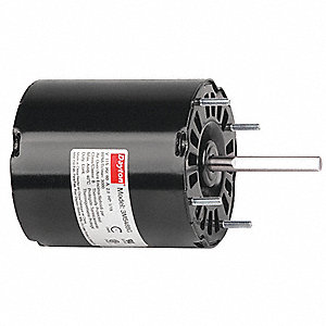 1/15 HP, HVAC Motor, Shaded Pole, 3000 Nameplate RPM, 115 Voltage, Frame 3.3