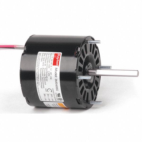Dayton 1 30 Hp Hvac Motor Shaded Pole 1550 Nameplate