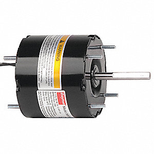 1/30 HP, HVAC Motor, Shaded Pole, 1550 Nameplate RPM, 115 Voltage, Frame 3.3