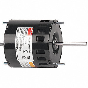 1/70 HP, HVAC Motor, Shaded Pole, 1550 Nameplate RPM, 115 Voltage, Frame 3.3