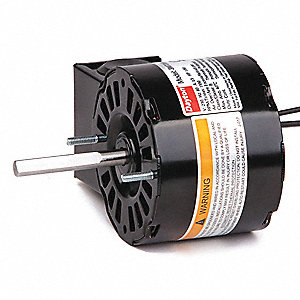 1/50 HP, HVAC Motor, Shaded Pole, 1550 Nameplate RPM, 230 Voltage, Frame 3.3