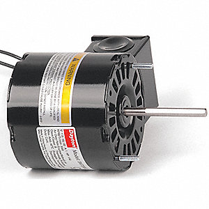 1/40 HP, HVAC Motor, Shaded Pole, 3000 Nameplate RPM, 115 Voltage, Frame 3.3