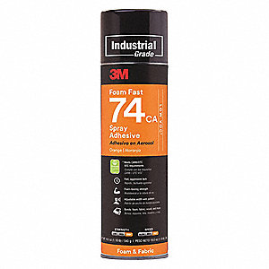 24 oz. Spray Adhesive with Temp. Range (F) of 0° to 120°
