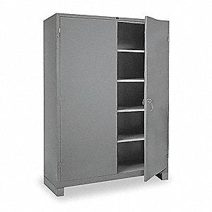 lyon shelving cabinet 82 h 60 w gray 3ma47 dd1145 grainger. Black Bedroom Furniture Sets. Home Design Ideas