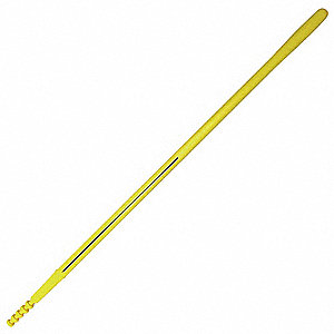 "Straight Shovel Replacement Handle, 48"", Fiberglass w/Polypropylene Outer Jacket"