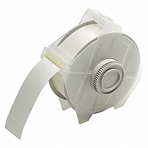 "Indoor/Outdoor Polyester Label Tape Cartridge, Clear, 1-1/8""W x 100 ft."