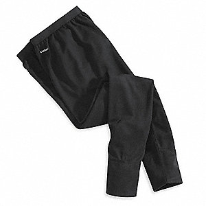 Bottoms, 100% Polyester, Black, LTall, 1 EA