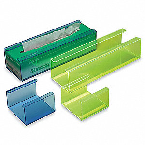 LAB ORGNZR WIPE HOLDER GREEN SMALL
