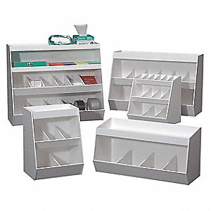 Lab Storage Bin,14Comp,20x24x10In
